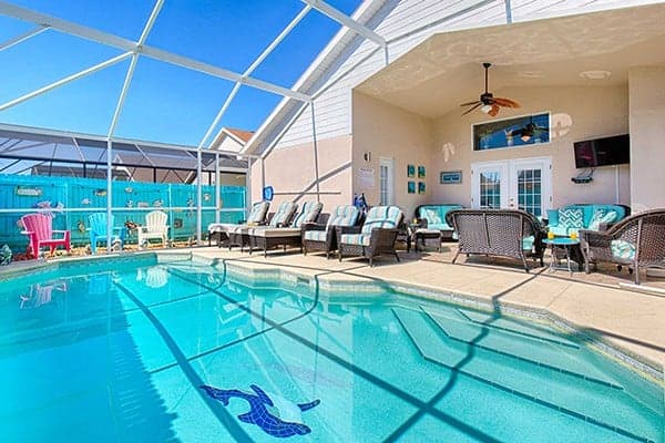 Serendipity at Indian Creek Disney World Vacation Rental Pool