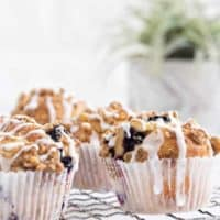 Blueberry Walnut Muffins