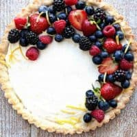 Fresh Berry Mascarpone Tart
