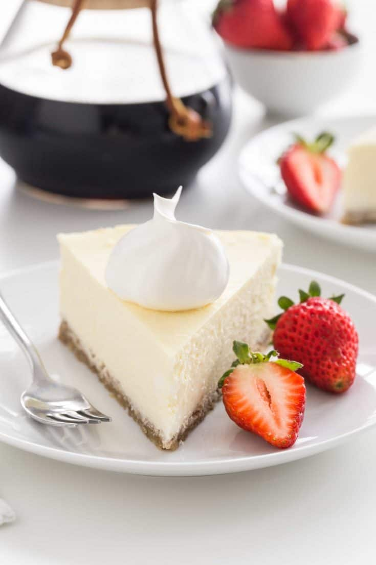 Low Carb Cheesecake has all the delicious flavor and creamy texture of traditional cheesecake without the added sugar. Serve it up for Mother's Day, or as a special treat for anyone watching their sugar intake.