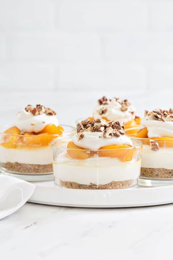 No Bake Peach Cheesecake capture everything there is to love about summer. So easy and delish!