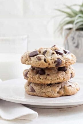 Caramel Coconut Chocolate Chip Cookies are brimming with chocolate, caramel chips, coconut and pecans to create the most popular cookie I've ever made. People will be begging you for the recipe!