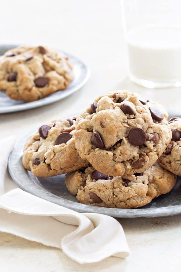 Caramel Coconut Chocolate Chip Cookies are brimming with chocolate, caramel chips, coconut and pecans to create the most popular cookie I've ever made. This recipe is sure to become your new favorite!