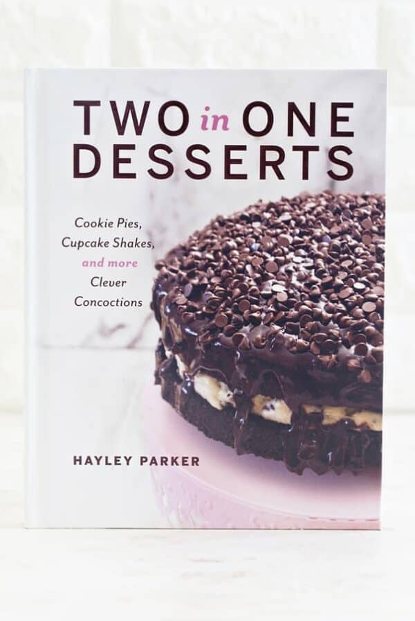 Two in One Dessert by Hayley Parker of the blog, The Domestic Rebel.