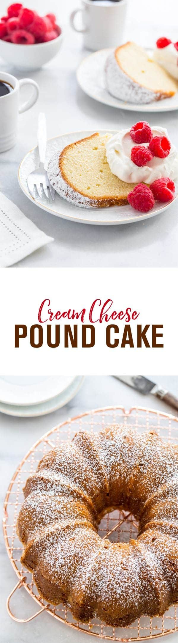 Cream Cheese Pound Cake is one delicious way to treat yourself to dessert. Whip it up all year long!