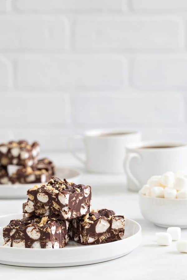 Nutella S'mores Fudge is simple to make and delicious to eat. You'll be making this one over and over again!