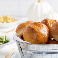 Garlic and Herb Beer Bread Rolls
