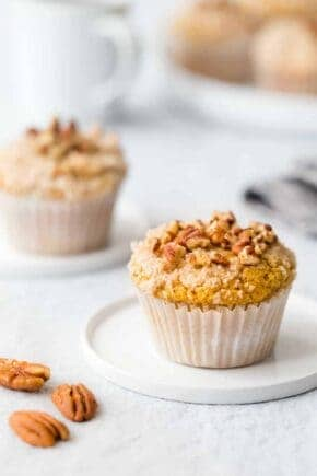 Pumpkin Cream Cheese Muffins are everything you love about fall, in muffin form! Simple, delicious and perfect for the season!