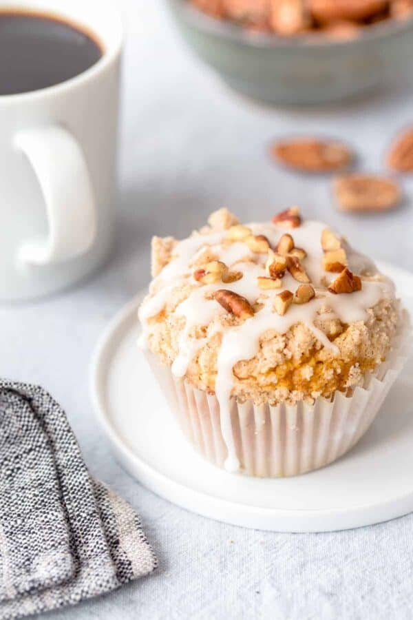 Pumpkin Cream Cheese Muffins are everything you love about fall, in muffin form! A definite must-make!