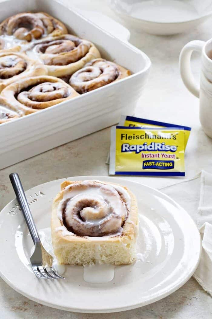 Overnight Chai Spice Sweet Rolls are the perfect breakfast for Christmas morning, or a random Tuesday! Sweet and so delicious!