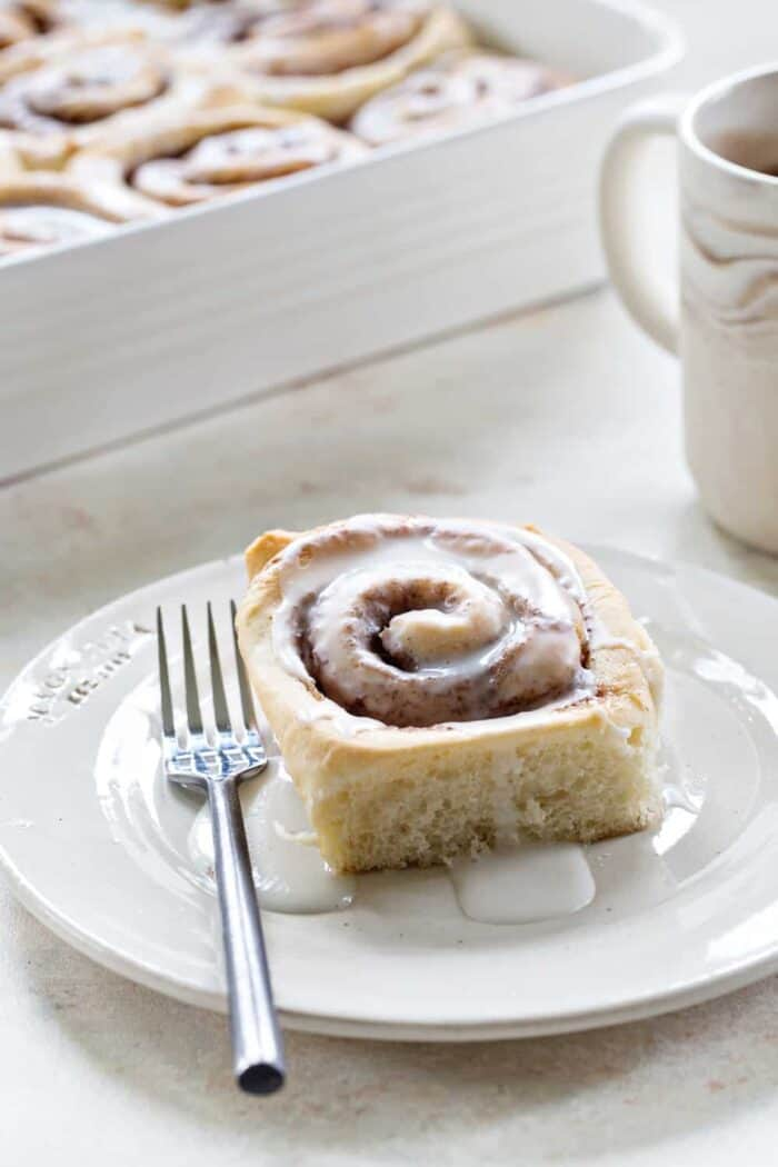 Overnight Chai Spice Sweet Rolls are the perfect breakfast for Christmas morning. Do all the work the night before! Easy peasy!