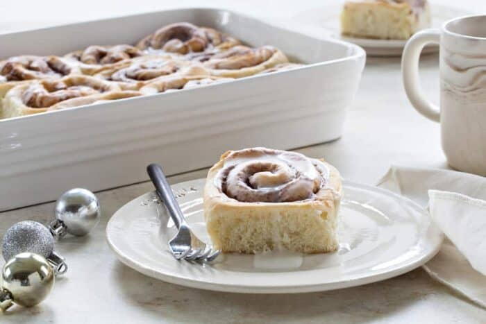 Overnight Chai Spice Sweet Rolls are the perfect breakfast for Christmas morning. Do all the work the night before! So much better than popping open a can!