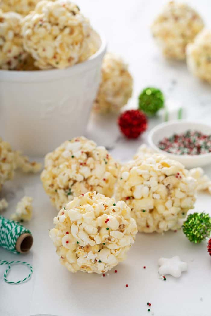 Popcorn Balls My Baking Addiction