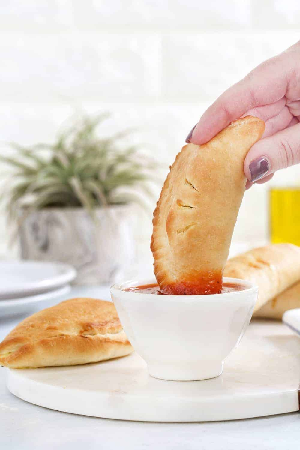 Easy Pizza Pockets are super simple and totally delicious. They're perfect for game day, or any day!