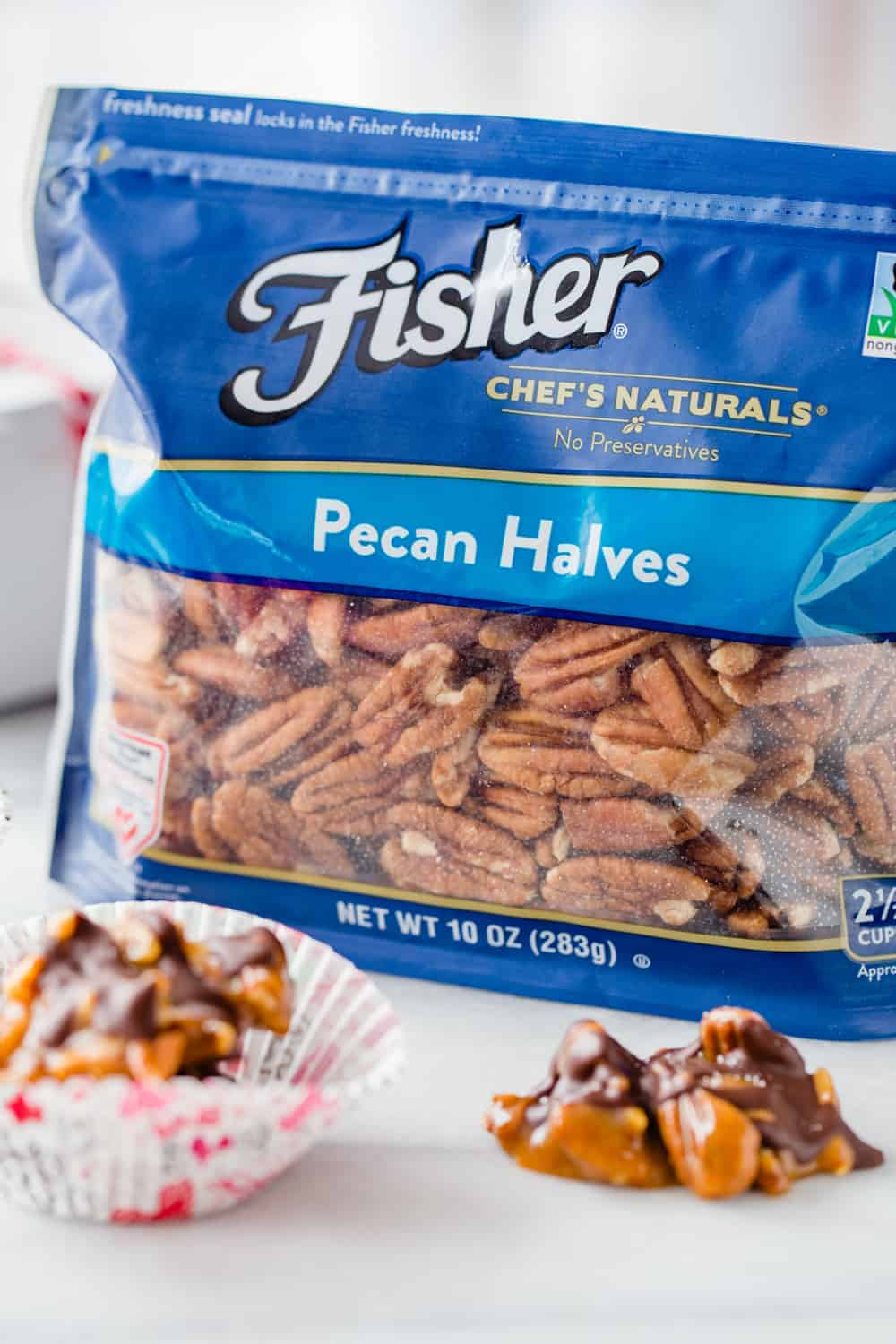 Caramel Pecan Clusters come together with just a handful of ingredients. You'll love how simple and delicious these are!