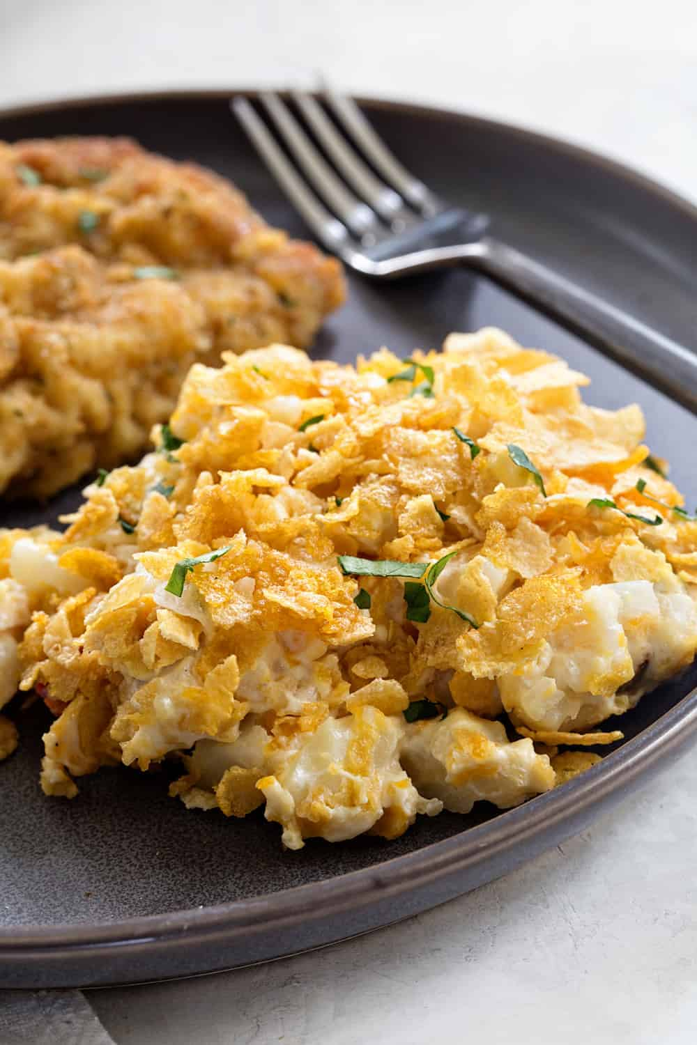 Hash Brown Casserole is simple and delicious. It's the perfect side dish for potlucks, barbecues, and even brunch.