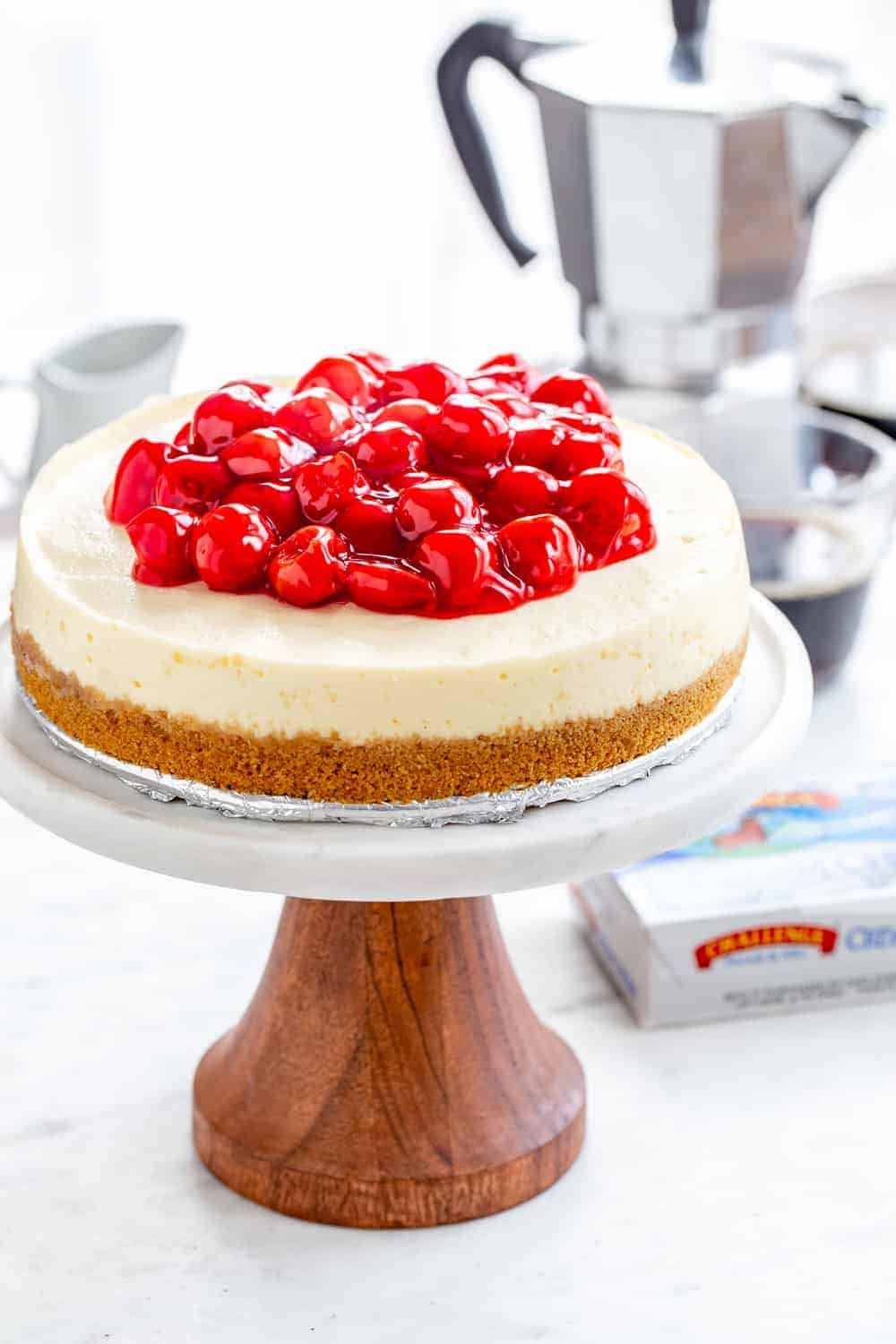 Instant Pot Cheesecake is creamy, smooth and simple to make in your electric pressure cooker.