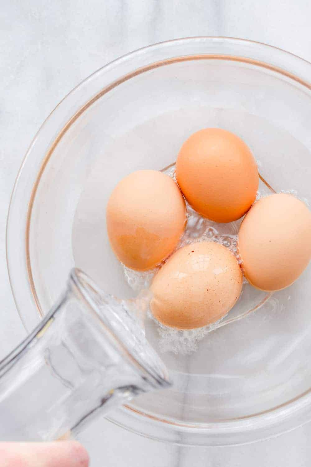 An easy way to bring eggs to room temperature when you're in a hurry.