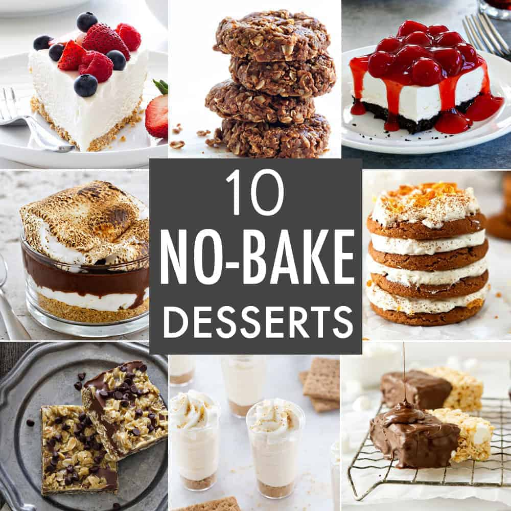 10 No-Bake Dessert Recipes