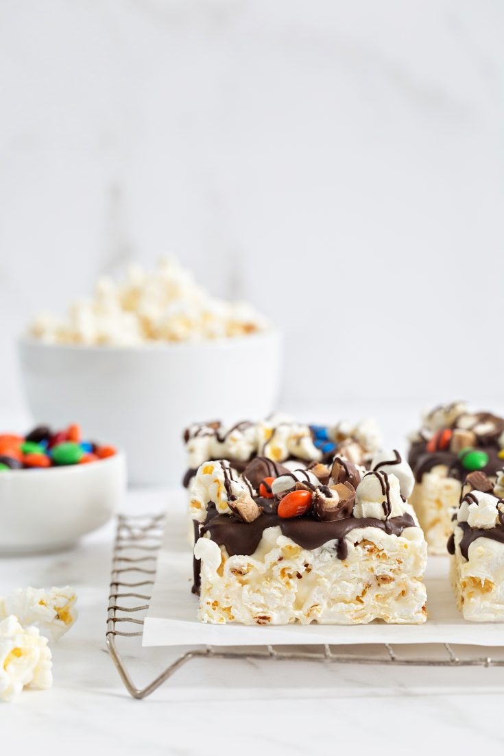 Movie Theater Popcorn Bars take movie snacks to the next level. They're sweet, salty and totally delicious.