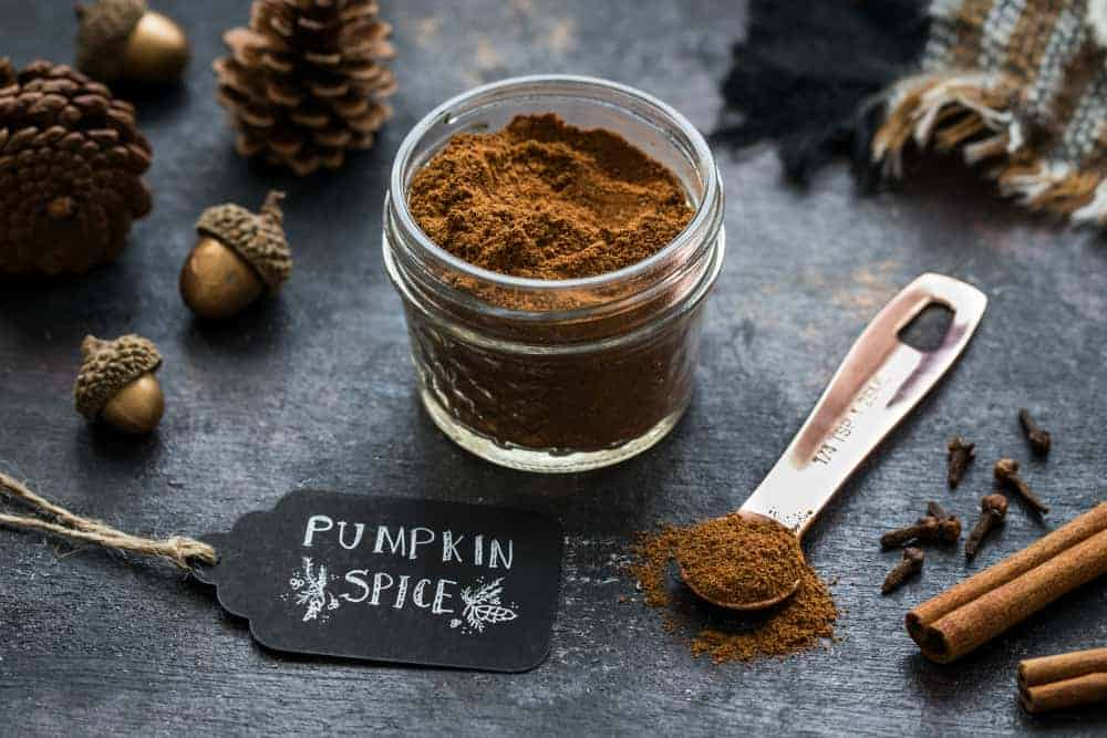Pumpkin Pie Spice is so easy to make at home!  It's the perfect blend for fall baking!