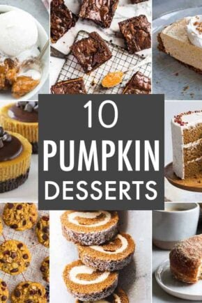 10 Pumpkin Dessert Recipes