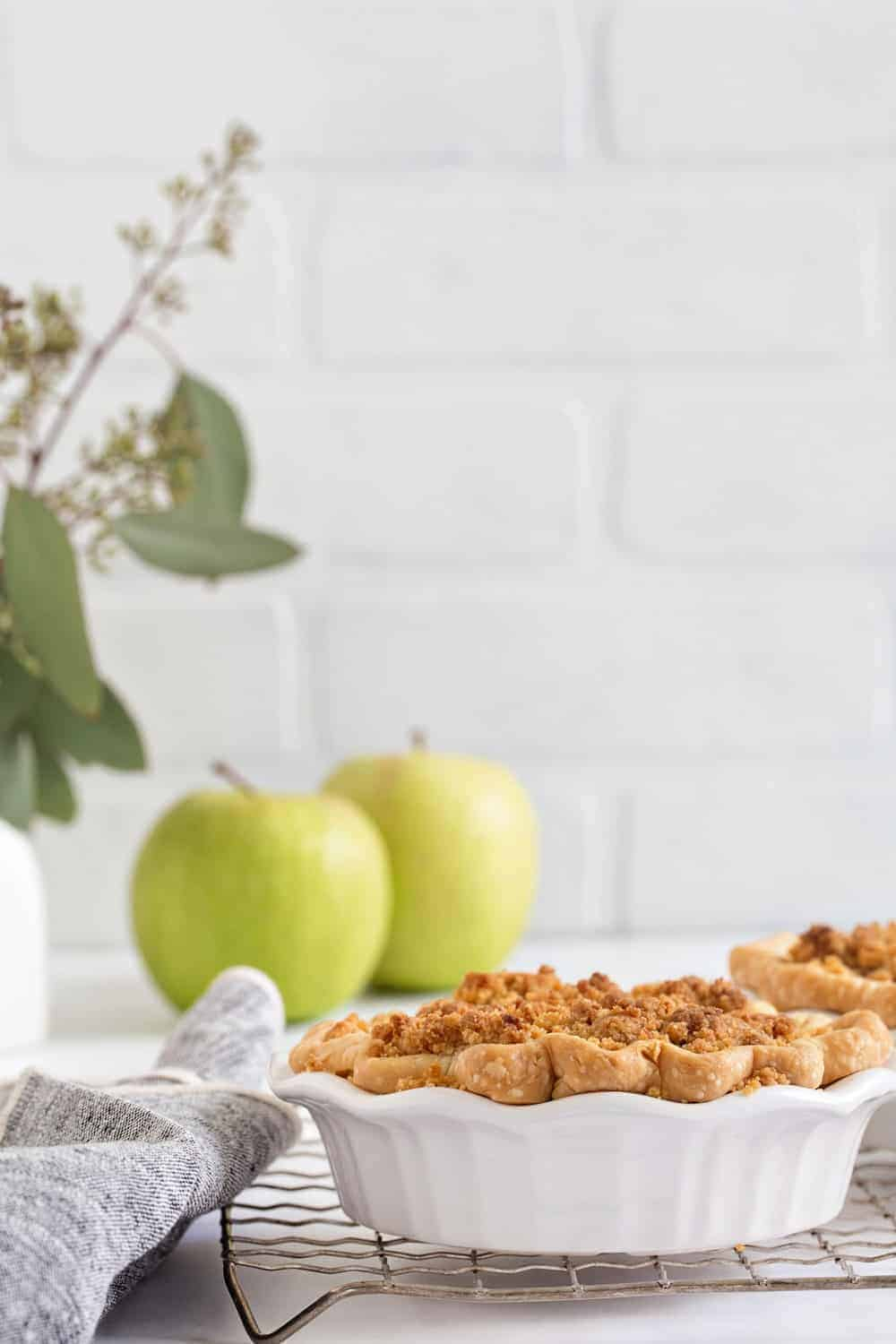 Mini Apple Pies are a little spin on a fall classic. So fun to make!