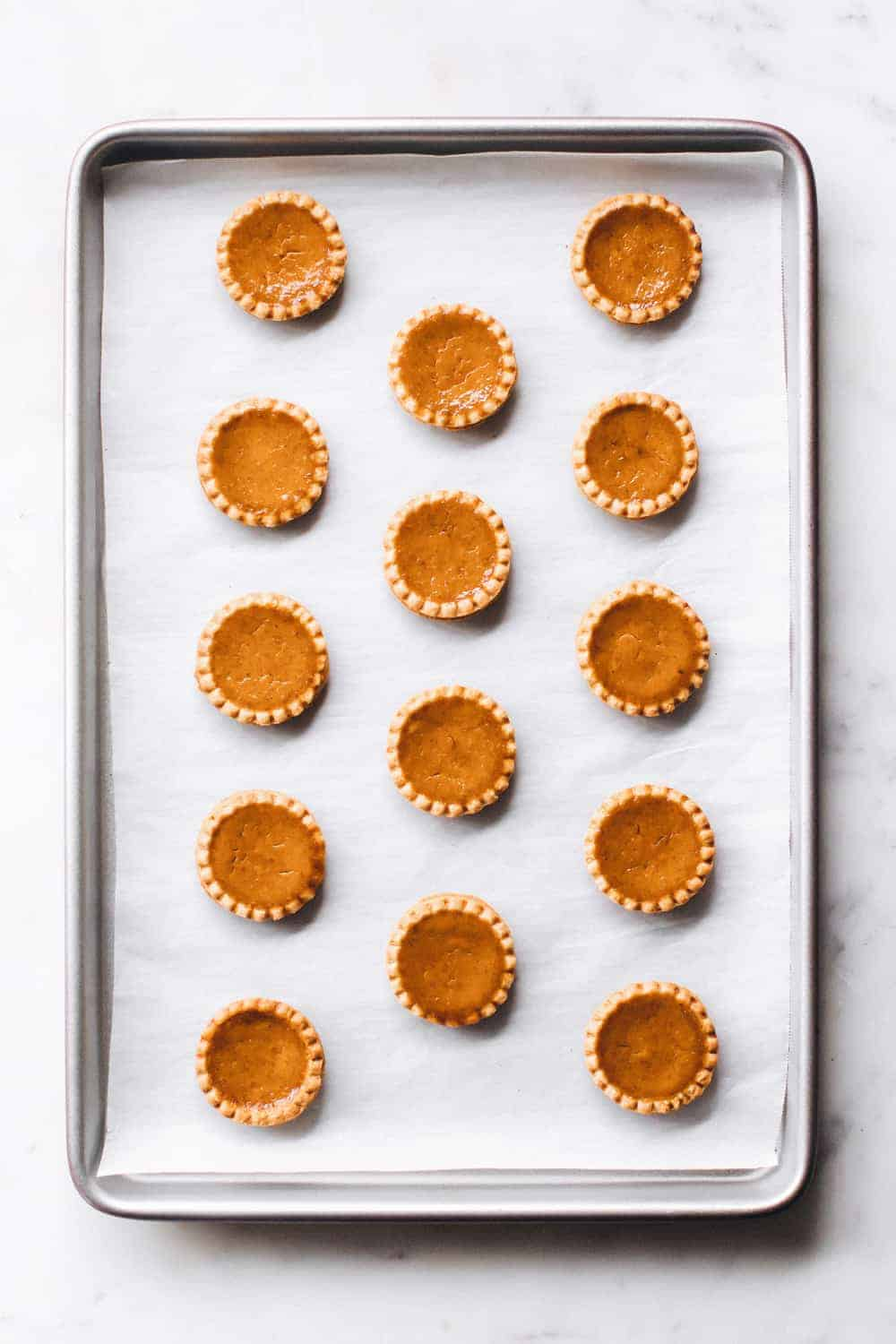 Mini Pumpkin Pies are simple and totally delicious. What's better than pumpkin pie in mini form?