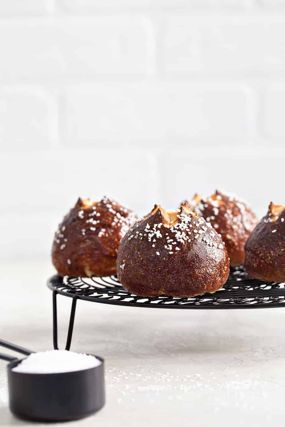 If you love soft pretzels, these soft and fluffy Pretzel Rolls are a must-make!