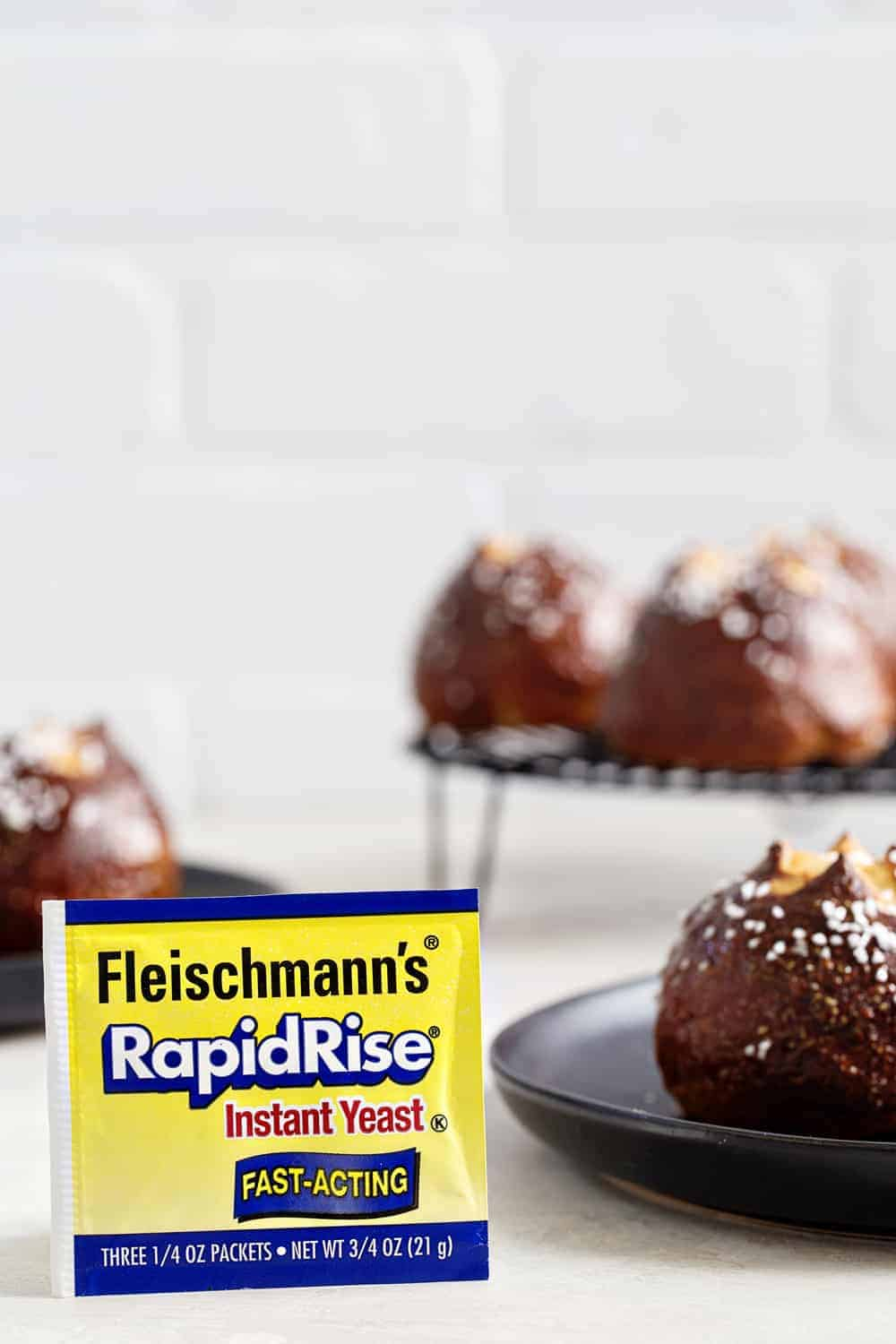 Fluffy Pretzel Rolls are the perfect addition to any holiday dinner table. Whip them up and watch them disappear.