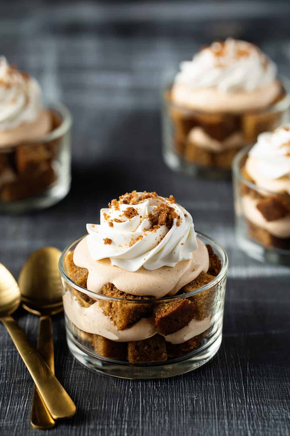 Pumpkin Trifles are a simple and delicious dessert that comes together in a matter of minutes!