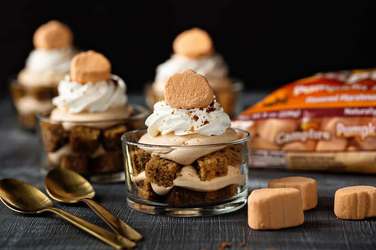 Pumpkin Trifles are a simple and delicious dessert that are perfect for holiday entertaining.