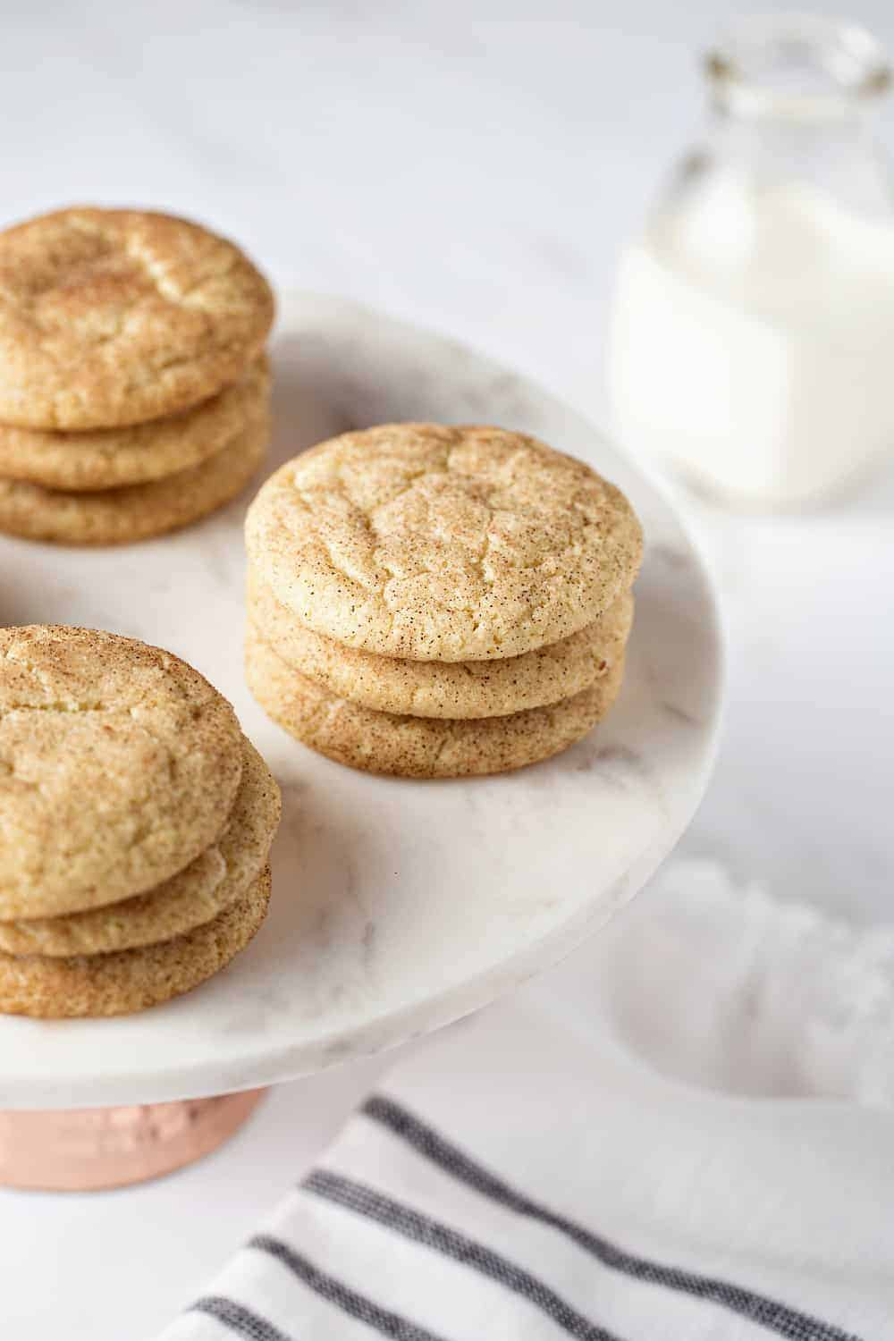 This Easy Snickerdoodle Cookies Recipe makes the BEST Snickerdoodle Cookies. It'll become your new fave!