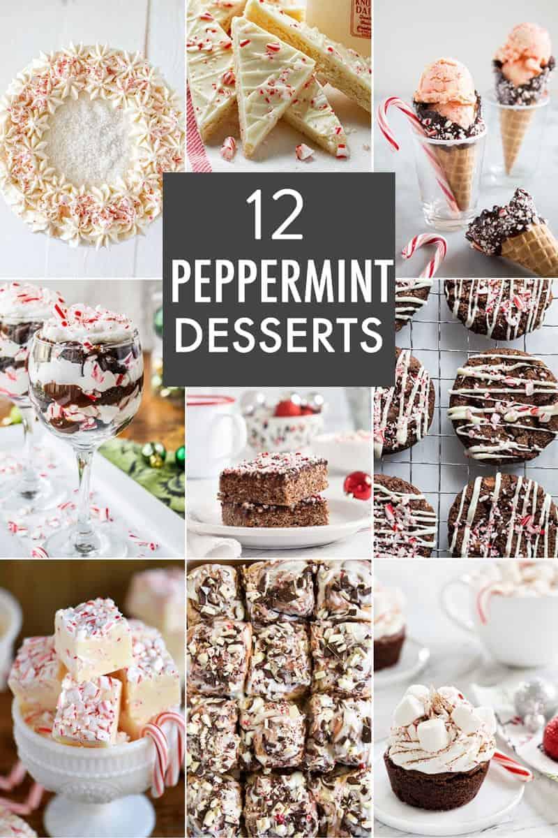 12 Peppermint Dessert Recipes