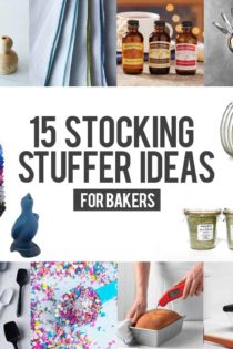Need some help knowing what to get the baker in your life? Check out these 15 stocking stuffer ideas, perfect for anyone who loves baking!