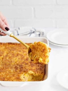 Easy Corn Casserole is a must-make addition to any holiday table.