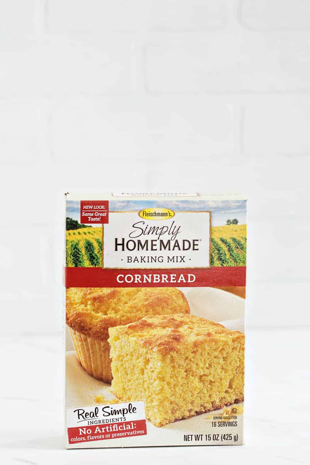 Easy Corn Casserole comes together in less than 10 minutes and is perfect for the holidays.
