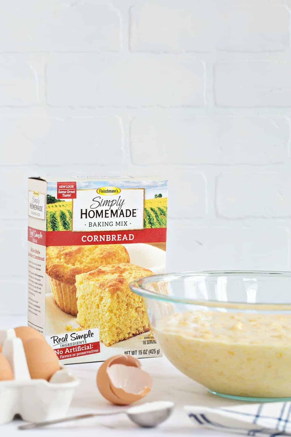 Make Easy Corn Casserole  in less than 10 minutes; it is perfect for the holidays.