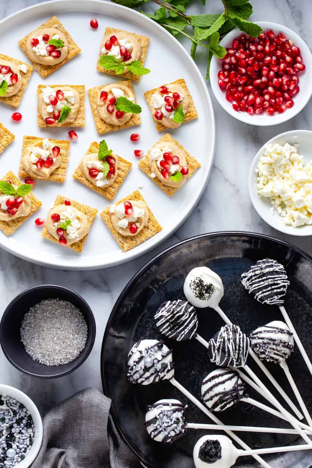 Hosting your very own New Year's Eve snacks party is easier than ever when you turn to your favorite sweet and savory snack recipes. This year, throw a New Year's Eve party that adults and kids alike will love.