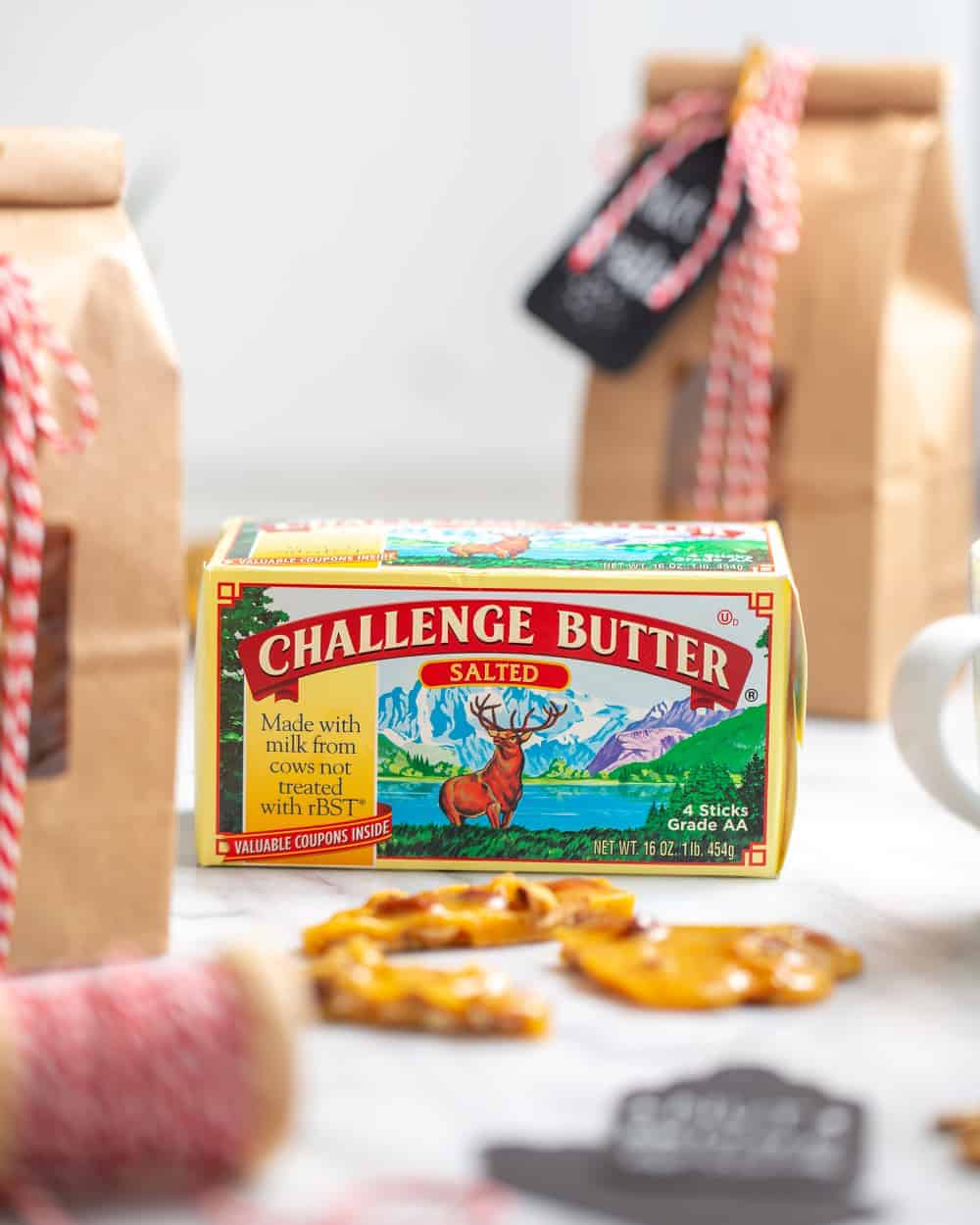 Buttery, rich Nut Brittle makes a great holiday hostess gift