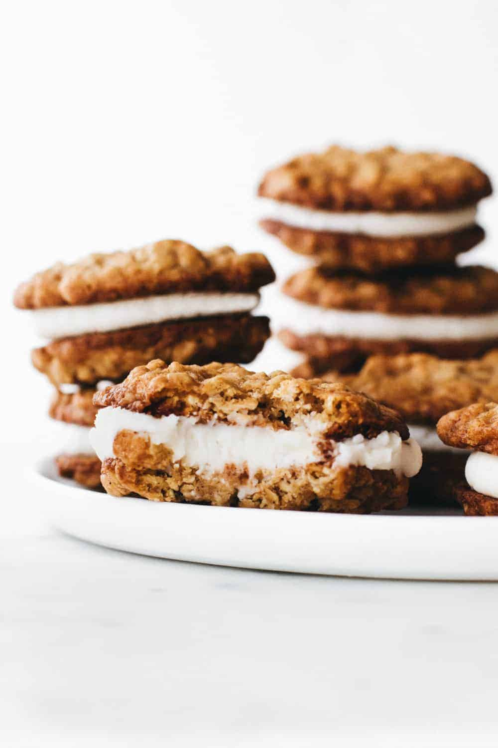 Homemade Oatmeal Cream Pies are delicious and easier to make than you would think!