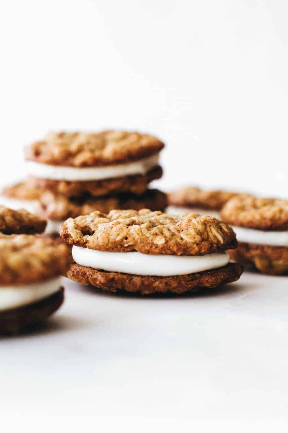 Making Oatmeal Cream Pies at home is easy and so delicious