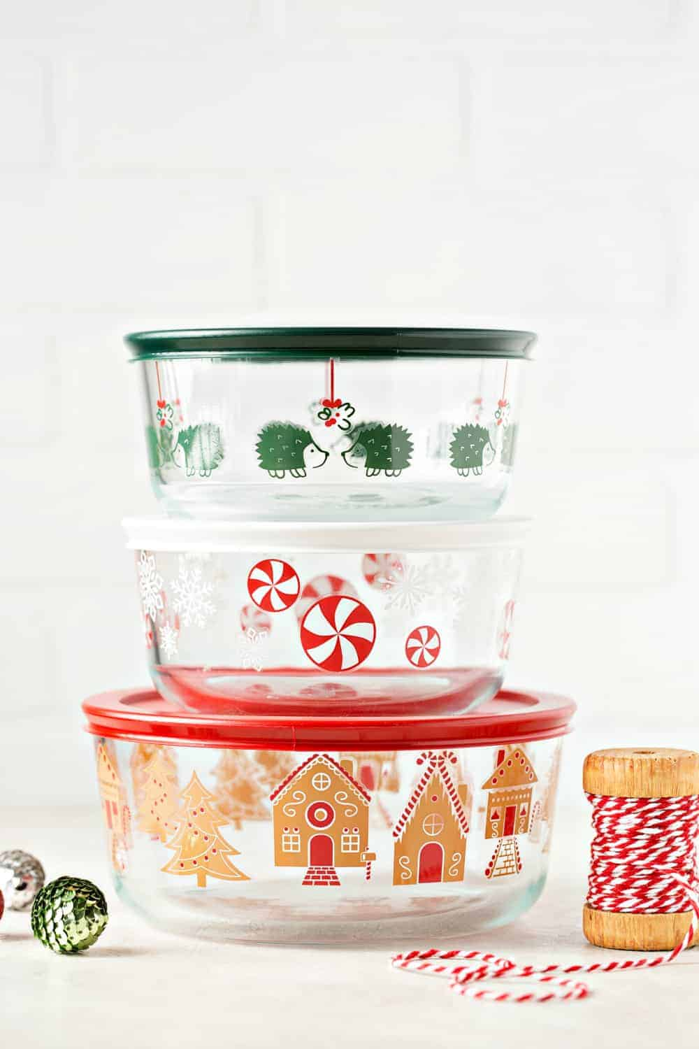 The Pyrex holiday collection is perfect for holiday entertaining and hostess gifts