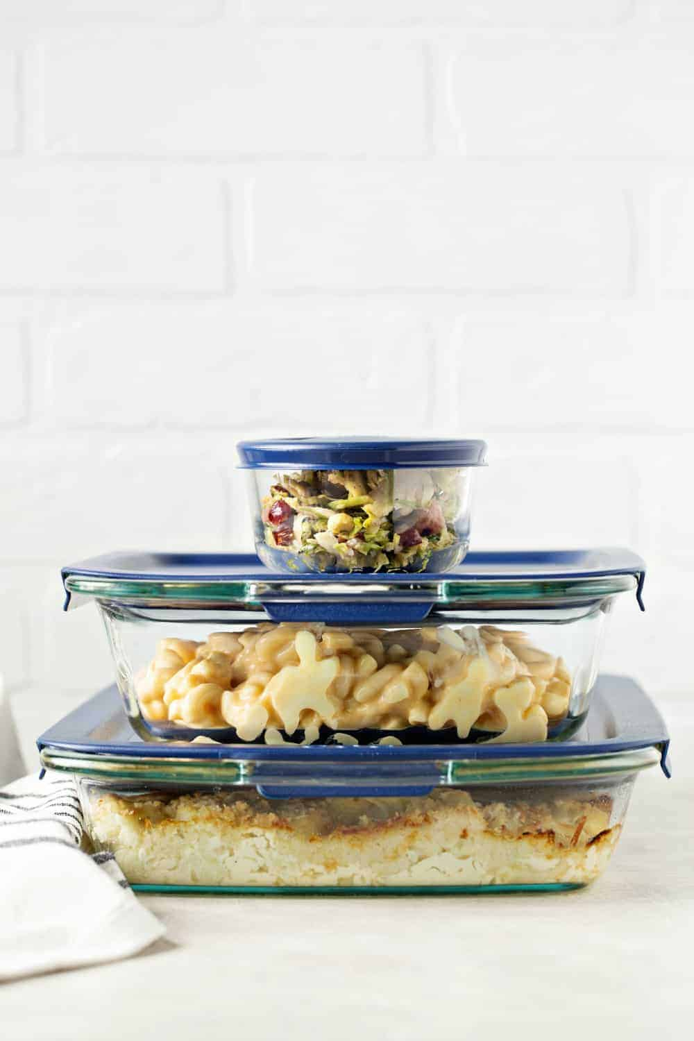 Cauliflower Gratin can be made ahead and stored in Pyrex to keep it fresh until the holiday meal