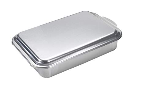 Nordic Ware Metal 9x13 Covered Cake Pan