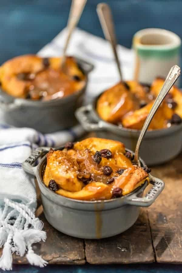 Irish Bread Pudding with Whiskey Caramel Sauce is a decadent dessert perfect  any time of year, but especially at St. Patrick's Day