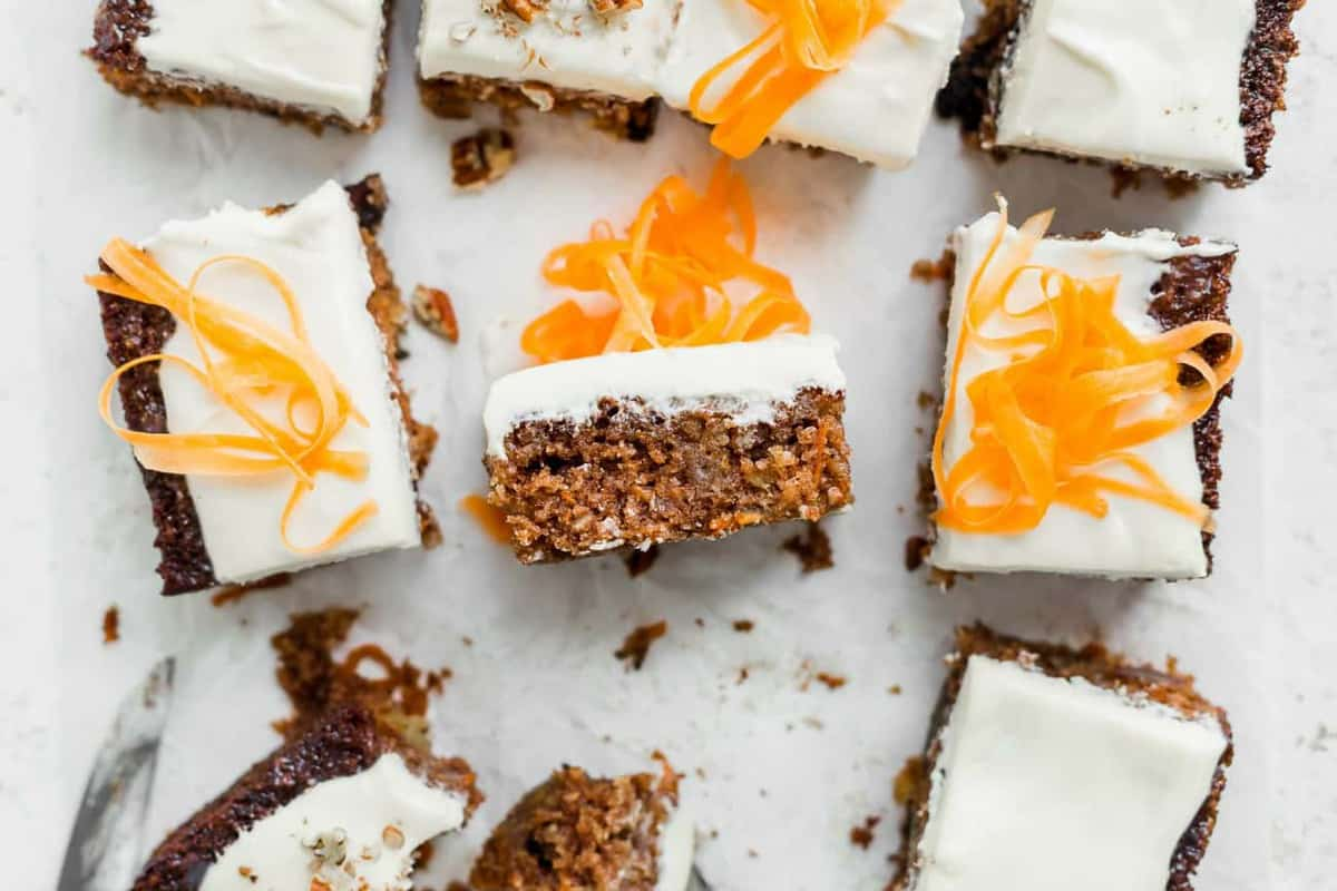 J Alexander's Carrot Cake is moist and delicious, perfect for your Easter table