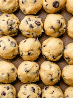 Freezing cookie dough is an easy way to be just minutes from hot, gooey, fresh-baked cookies at all times. Learn how to freeze cookie dough in this step-by-step guide!