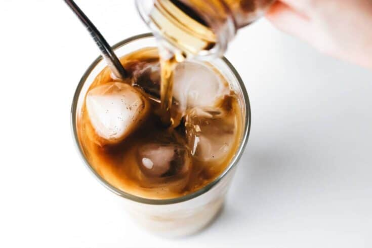 Homemade Vanilla Coffee Syrup: With only a few ingredients, you can make delicious homemade vanilla syrup to flavor your coffee, tea, sodas, and cocktails.
