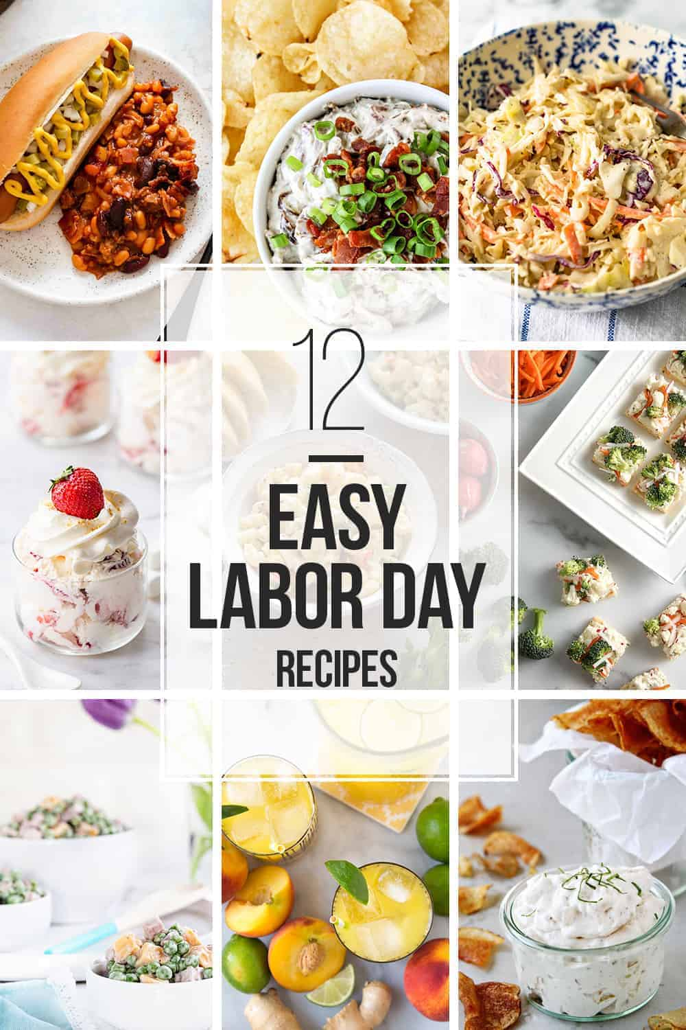 12 Easy Labor Day Recipes
